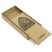 'Gothic Window' Wooden Pencil Case / Slide Top Box