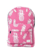 Spiral Pineapple Backpack in Pink