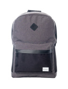 Spiral Charcoal Mesh Sp Backpack in Black