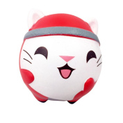 Squishy Toy,Y56 Christmas Cute Cat Scented Squishy Toy/Squeeze Toy/Relieve Stress Toy/Gift Toy/Children Amusing Toy(Super Soft Slow Rising)