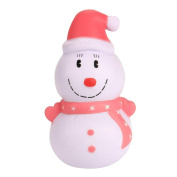 Squishy Toy,Y56 12cm Christmas Snowman Cream Scented Squishy Toy/Squeeze Toy/Relieve Stress Toy/Gift Toy/Children Amusing Toy(Super Soft Slow Rising)
