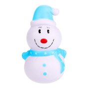 Christmas Squishy Slow Rising Mingfa Cute Soft Squishies Jumbo Stress Toy Santa Claus Snowman Squeeze Toys for Kids