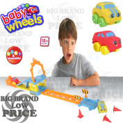 FB FunkyBuys® Kids Soft Cars Lounge n Go Jump Play Squeezable Baby Toddler Parking toy Play Land Gift