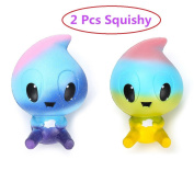 GbaoY Cute Squishies Slow Rising Soft Squishies Cream Scented Squeeze Kids & Adults Toy for Stress Relief and Time Killing
