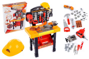 Tools Set Workshop with Accessories KP3778 Toys DIY Builder Construction Work Bench Kids Pretend Play Toy Drill