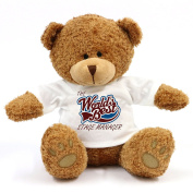 The Worlds Best Stage Manager Teddy Bear