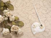 Beach Shell Theme Ivory Wedding Pen Set