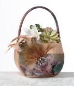Camouflage Flower Basket