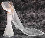 Wedding Veil European-Style High-Quality Lace To Extend The Long Tail Of The Wedding Dress Wedding Dress Veil