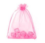Kingken Approx.50 pcs Organza Candy Gift Drawstring Mesh Bags Wedding Party Favours Wrap Bags