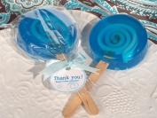 Sweet Treats Blue Lollipop Soap Favour.