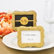 Gold Bling Glitter Frame From Solefavors
