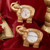 Good Luck Gold Indian Elephant Picture Frame From Solefavors
