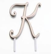 Gold Monogram Letter K
