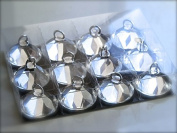 12 x Crystal Diamond Balloon Weight