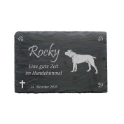 'Cane Corso' Slate Plaque – Approximately 22 x 16 cm – Waterproof Engraving