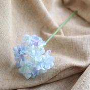 Artificial Flowers 10Pcs Emulation Flower Hydrangea Flowers And Bouquets Wedding Party Christmas Decoration, Blue