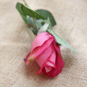 Artificial Flowers 10Pcs Silk Emulation Flower Flowers Roses Wedding Party Christmas Decoration Valentine'S Day Gifts, The Red