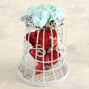 ChenXi Shop Bird Cage Wedding Candy Sweet Box Party Gift Candy Boxes Chocolate Flower Metel Box