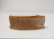 Eleganza Country Hessian Ribbon Wired Edge 38mm x10 m 6 Colours Wrapping Gifts