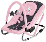 Asalvo Space Mice Design Baby Bouncer, Pink