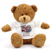 The Worlds Best Network Manager Teddy Bear