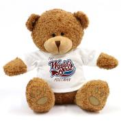 The Worlds Best Postman Teddy Bear