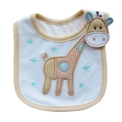 F-eshiat Lovely Cute Cartoat Pattern Toddler Baby Waterproof Saliva Towel Baby Bib