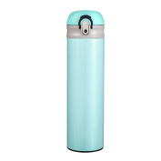 Vacuum thermos cup, ladies and gentlemen, stainless steel cup, portable creative student cup,blue