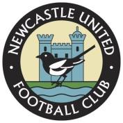 Retro Newcastle United - ROUND 8CM COASTER