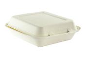 Vegware Bagasse Takeaway Box 23cm X 20cm - Pack Size = 1x 200