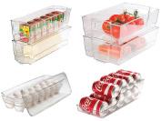 Culinary Edge CE701 Food Storage Set, Clear