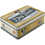Nostalgic Art Dog Paw Sign 30742 Bisquits, Storage Container Flat