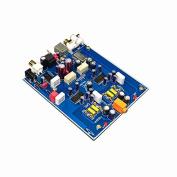Q-BAIHE T2 computer USB sound card DAC fever HIFI decoder optional fibre coaxial USB Input Dual TDA1305T parallel output