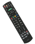 allimity Universal Replace Remote Control fit for Panasonice TV N2QAYB000328 N2QAYB000353 N2QAYB000048 N2QAYB000487 N2QAYB000487 N2QAYB000239 N2QAYB000490 N2QAYB000753 N2QAYB000672 etc