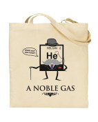 Helium. A Noble Gas - Periodic Table - Noble Gases - Science Humour - Tote Bag - Shopping Bag - Reusable Bag - Bag For Life - Beach Bag - Totes - Funky NE Ltd®