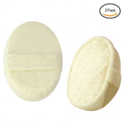 Loofah Sponge Bath Ball IMABAO 100% Natural Luffa Material Exfoliating Loofah Body Sponge Scrubber Pouffe Soft Shower Ball For Men And Women