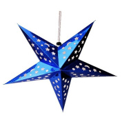 BENHAI 1PC Party decoration laser ceiling hanging star bar paper decoration ornaments lamp cover Creative Beautiful Home decor Star Popular Christmas Decoration Supplies
