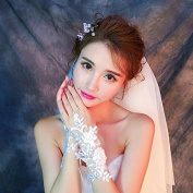 Ajunr-Gloves The Bride Refers To Hollow Beads Of Flowers Beautiful Summer Lace Thin