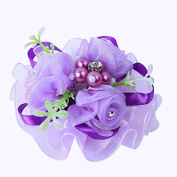 Ajunr-Gloves Bridal Wedding Wrist Flower Bridesmaid Wedding Aestheticism Sisters Group Hand Flower