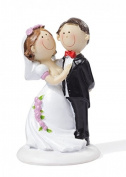 Bride and Groom Wedding Decorative 9 cm/Wedding Celebration