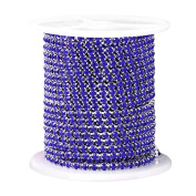 Pinzhi Cystal Rhinestone Close Cup Chain Trimming Claw Chain Jewellery Crafts 1Yard 1-Row