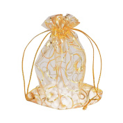 Organza Bags Jewellery Party Wedding Favour Gift Bags 100pcs 10x12cm