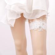 Garter Lace Imitation Pearl