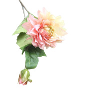 Artificial Silk Floral Flower,Bescita Fashion Silk Flower Leaf Artificial Home Wedding Decor Bridal Bouquet