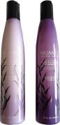 Nuance Salma Hayek Blue Agave Curls & Waves Hair Care Bundle