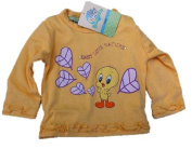 T-Shirt Long Sleeve T-Shirt Tweety Girl Looney Tunes * 13554