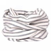 Pu Ran Kids Winter Cute Cotton Collar Cartoon Dog Snowman Scarf Neck Wrap O Ring Scarf