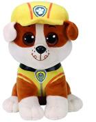 TY 96320 Paw Patrol – Rubble Plush Toy, 24 cm