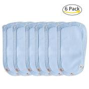 6 Packs Jumpsuit Extender, Baby Romper Suit Crotch Partner, Super Utility Baby Gap Lengthening Piece Bodysuit Extender Patch